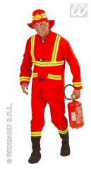 Fireman Fancy Dress Costume